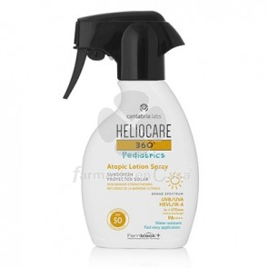 Heliocare 360º Pediatrics Atopic Locion Solar Spf50 Spray 250ml