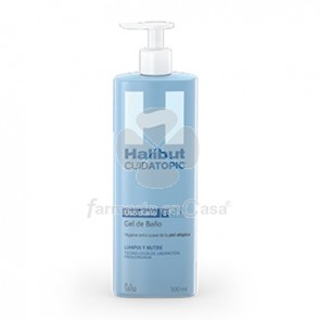 Halibut Cuidatopic Gel de Baño Piel Atopica 500ml