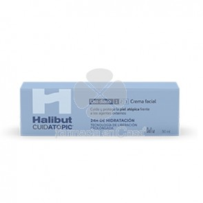 Halibut Cuidatopic Crema Facial Piel Atopica 50ml