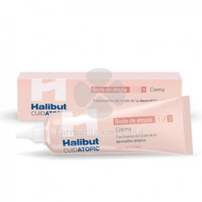 Halibut Cuidatopic Alivia Brote de Atopia Crema 30ml
