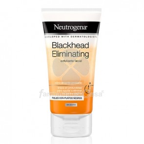 Neutrogena Blackhead Eliminating Exfoliante Puntos Negros 150ml