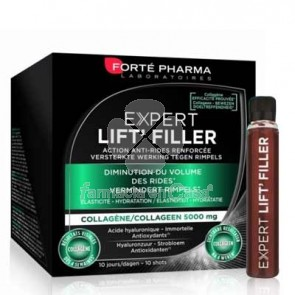 Forte Pharma Expert Lift Filler Antiarrugas 10 Shots Bebibles