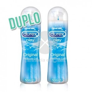 Durex Play Lubricante Original Duplo 2x50ml
