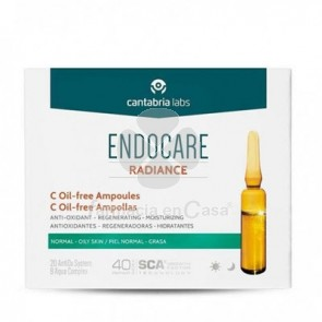 Endocare Radiance C Oil Free 10 Ampollas