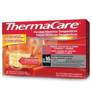 Thermacare Parches Termicos Lumbar y Cadera 4Uds