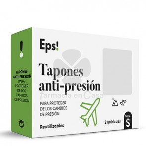 Eps Tapones Oidos Anti-Presion Talla S 2 Uds
