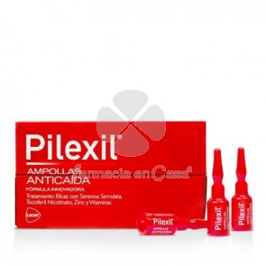 Pilexil Anticaida 15 Ampollas 5ml