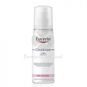 Eucerin Desodorante Spray 24h Piel Sensible 75ml