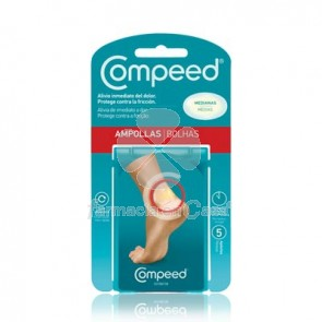 Compeed Ampollas hidrocoloide t- med 5 uds