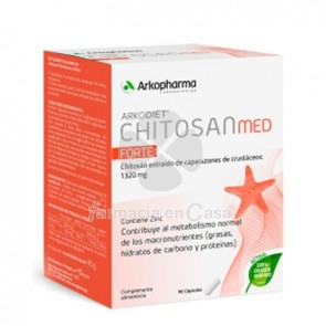 Arkodiet Chitosan Med Forte 90 Capsulas