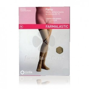 Farmalastic Panty comp normal 140 den beige t- reina