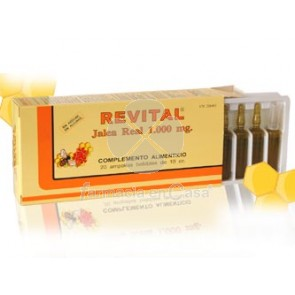 Revital Jalea real ampollas bebibles 20 u
