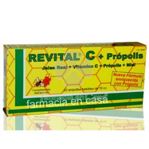 Revital C 20 ampollas bebibles