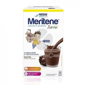 Meritene Junior Chocolate 30gr 15Uds