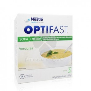 Optifast Sopa Verdura 8 Sobres