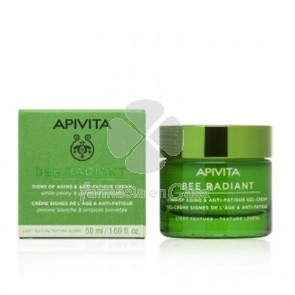 Apivita Bee Radiant Gel-Cr Ligera Signos Edad y Antifatiga 50ml