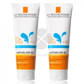 Anthelios Spf50+ Gel Wet Skin Duplo 2x250ml. La Roche Posay