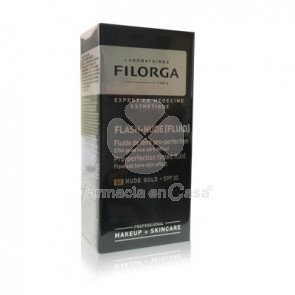 Filorga Flash-nude fluido con color 02 gold spf 30 30ml