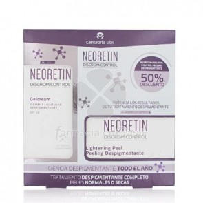 Neoretin Discrom Control Spf50 Gel-Cr 40ml + Peeling Despig 6x1ml