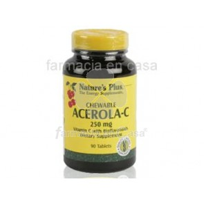 Nature's Plus Nature plus acerola-c 250mg vitamina c 90comp. masticables