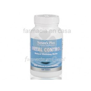 Nature's Plus Nature plus metal control quelador natural 120 comprimidos