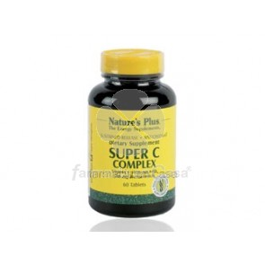 Nature's Plus Nature plus super c complex vitamina c 60 comprimidos