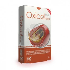 Oxicol Plus Omega Sistema Circulatorio 30 Capsulas