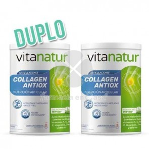 Vitanatur Collagen antiox plus regenerador duplo 2x360gr