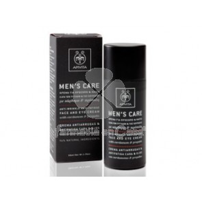 Apivita Mens care crema antiarrugas cara y ojos 50ml
