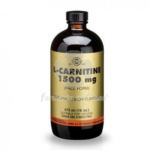 Solgar L-carnitina 1500 mg 473 ml