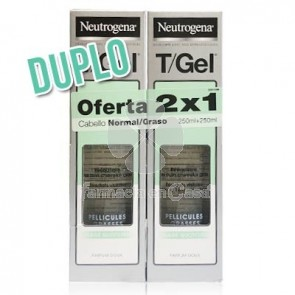 Neutrogena TGel Champu Cabello Normal-Graso Duplo 2x250ml
