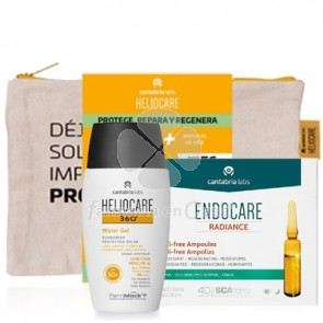 Heliocare 360º Water Gel Spf50+ 50ml + Endocare Oil-Free 10 Amp