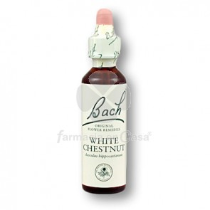 Flores de Bach - white chestnut 20 ml