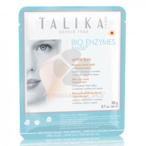 Talika Bio enzymes mask mascarilla facial aftersun 1x20gr