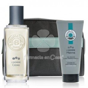 Roger Gallet Colonia Hombre Cedro 100ml + Gel Ducha Menta 50ml