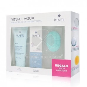 Rilastil Aqua Limpiador Facial Gel 100ml + Intense Gel-Crema 40ml