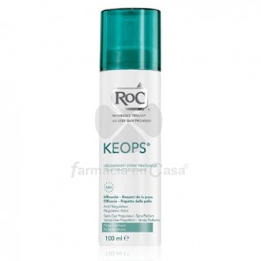 Roc Keops Desodorante Spray Seco Piel Normal 24h 100ml