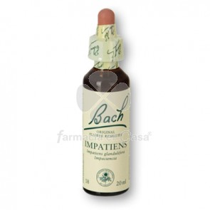 Flores de Bach - impatiens 20 ml