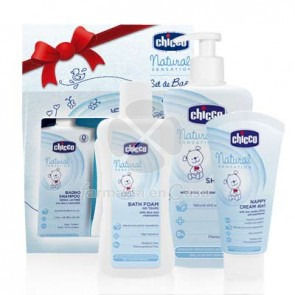 Chicco Natural sensation gel baño 200ml +champú 300ml+pasta 100ml