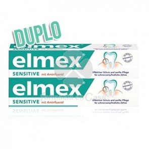 Elmex Sensitive plus pasta dental duplo 2x75ml