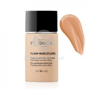 Filorga Flash-Nude Fluido con Color 03 Ambar Spf30 30ml