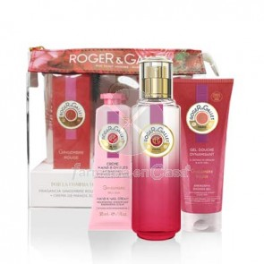 Roger Gallet Gingembre rouge perfume 30ml +cr manos 30ml+gel 50ml