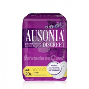 Ausonia Discreet mini compresa 20 uds