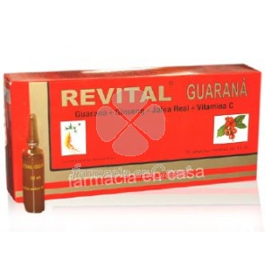 Revital Guarana 20 ampollas bebibles