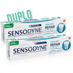 Sensodyne Repair And Protect Fresh Mint Pasta Dental Duplo 2x75ml