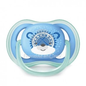 Avent Ultra Air Chupete Silicona Azul 6-18m 1 Ud