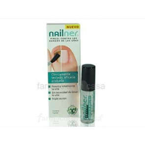 NAILNER REPAIR ANTIHONGOS UÑAS PINCEL 5ML