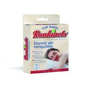 RONKINETS DORMIR SIN RONQUIDOS CLIP NASAL 2 UDS