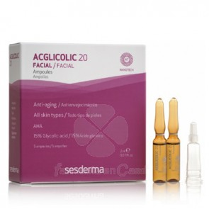 SESDERMA ACGLICOLIC 20 AMPOLLAS 5 UDS
