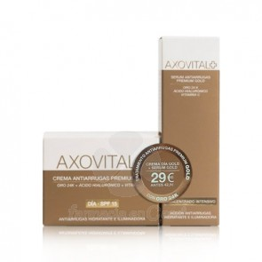 AXOVITAL CR ANTIARRUGAS PREMIUM GOLD DIA SPF 15 50ML + SERUM